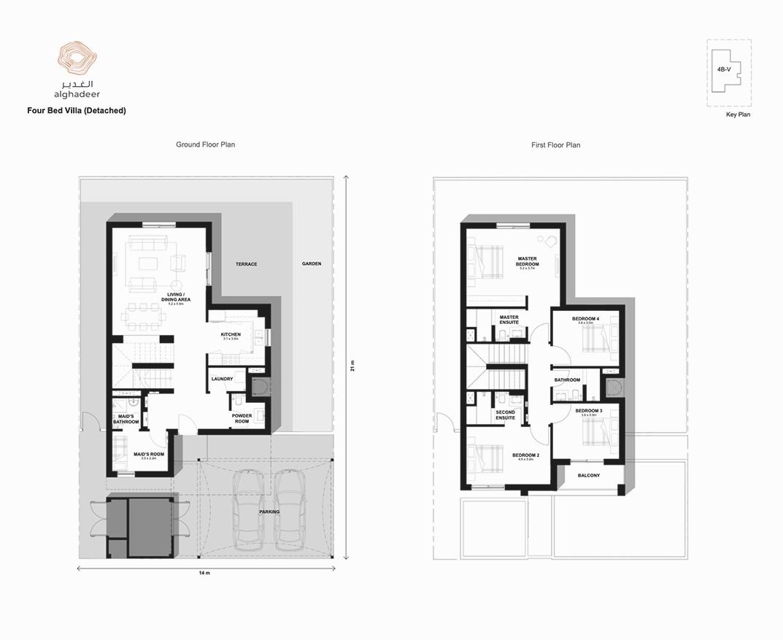 Four Bed Villa Detached