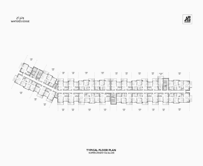 bldg 9 - TYP F _Floor Plan