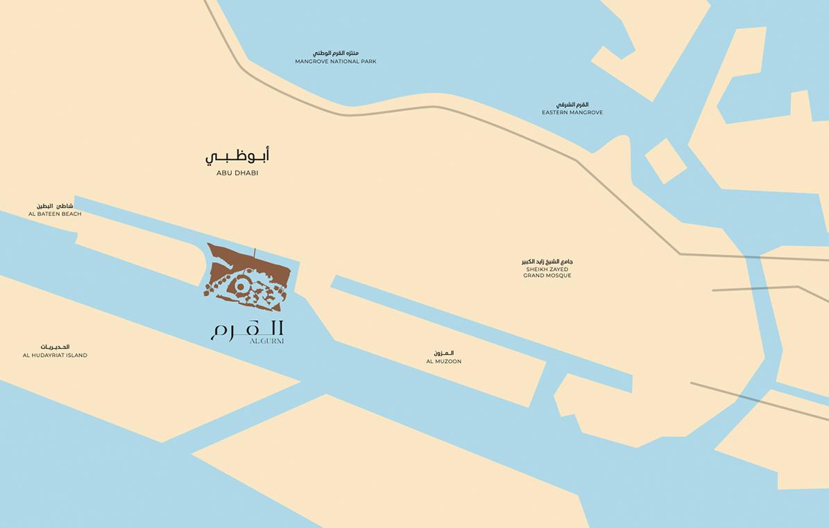 Location Map- Algurm