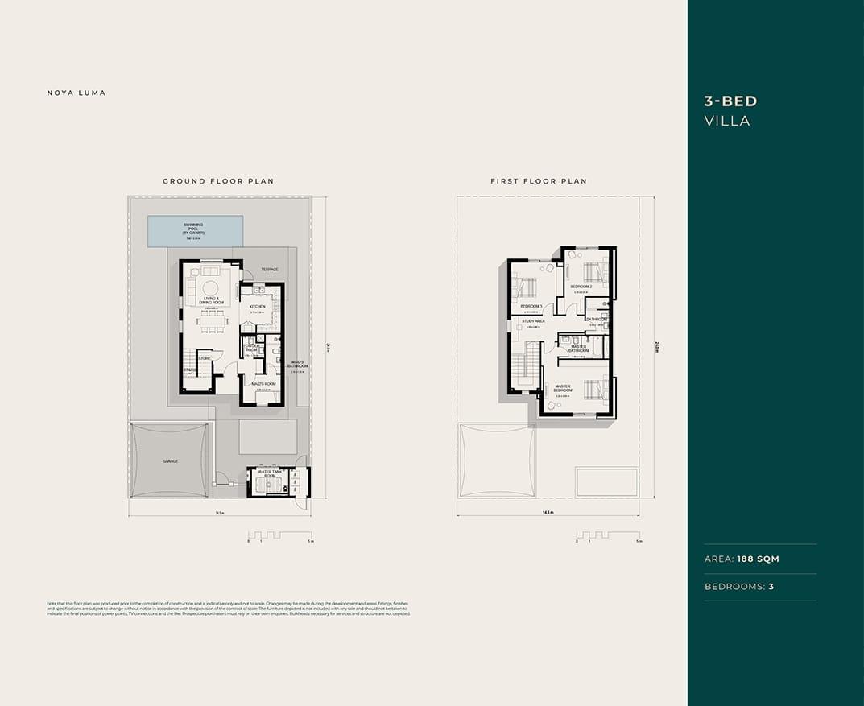 Floor Plan- 3 BED Villa