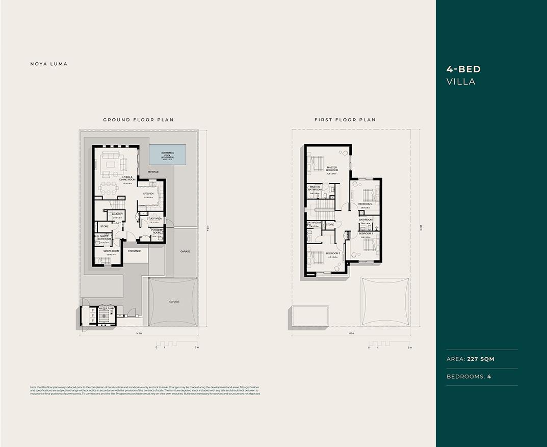 Floor Plan- 4 BED Villa