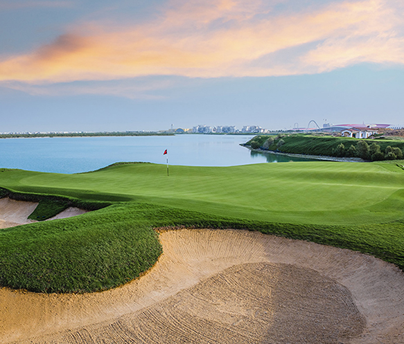 Close to Everything - Yas Links Golf Club