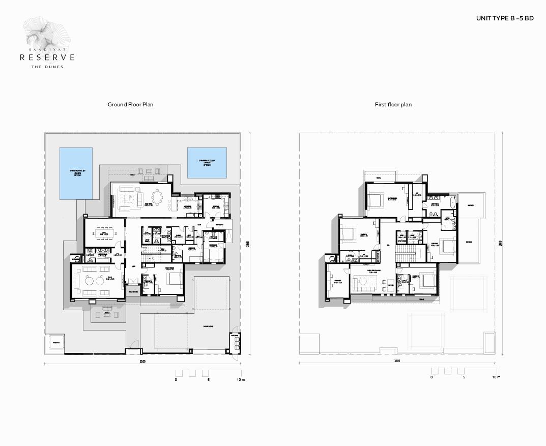 Latest-Floor plans - 1073 x 877-UNIT TYPE C 5 BD