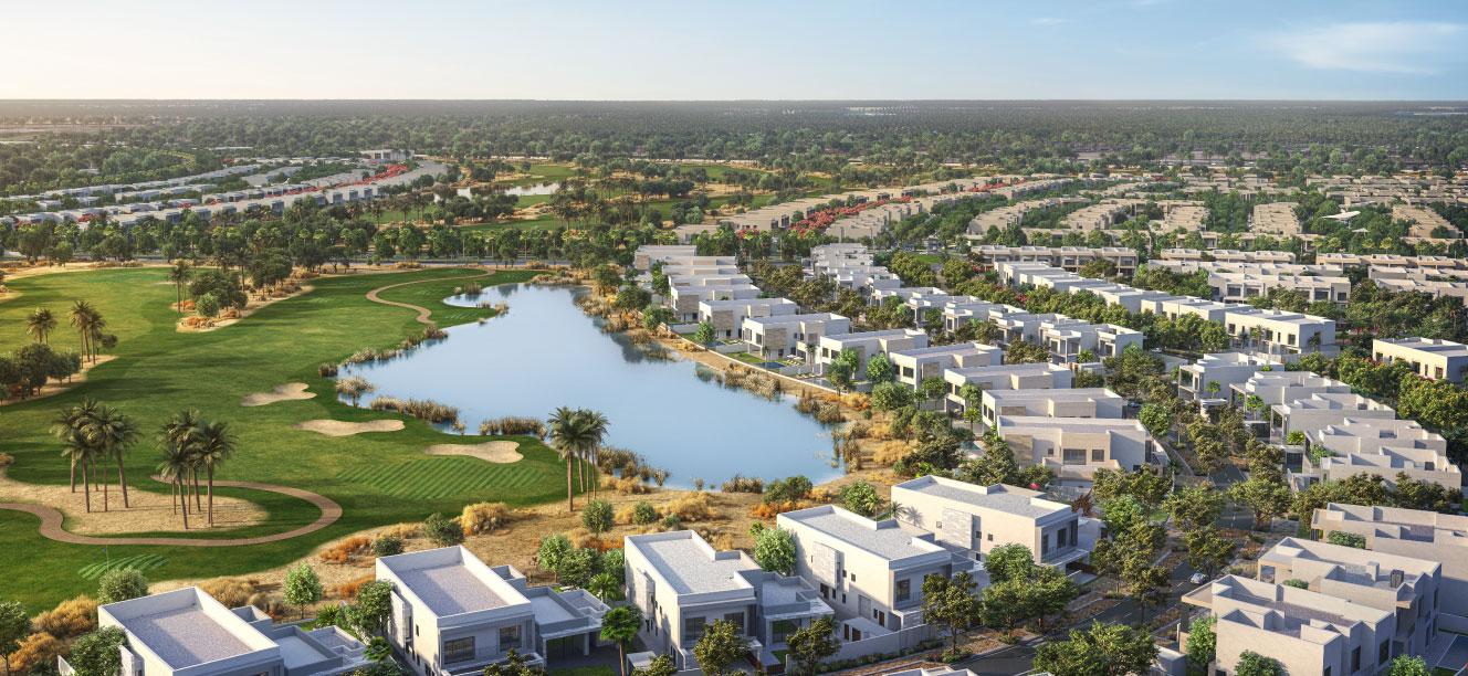 Aldar Yas Acres Masterplan