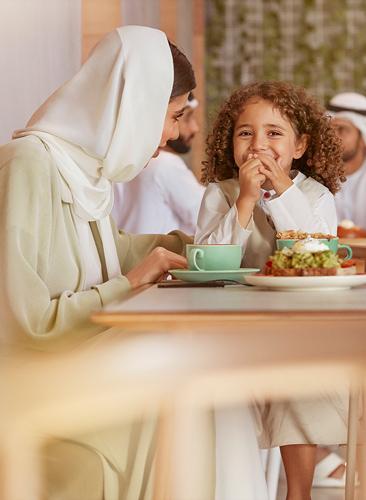 Al Reeman Community Image - Cafe